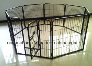 Pet Dog Laufstall Welpe Übung Zaun Zwinger Run Enclosure Cage