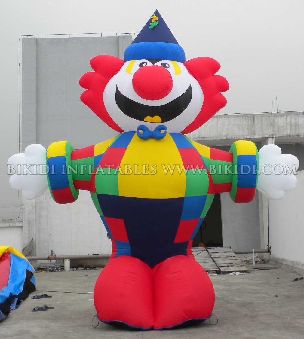 Outdoor Riesiger aufblasbarer Clown-Kaltluftballon (K2043)