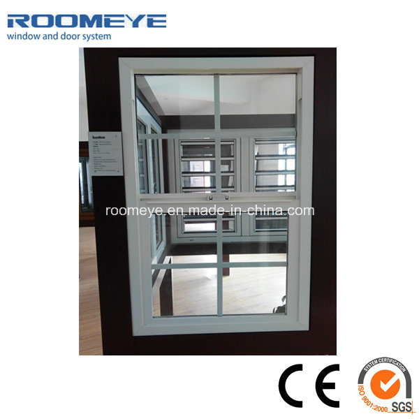 PVC Single Hung Windows der 82er Serie mit angemessenem Preis
